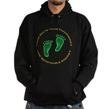 Carbon Footprint Renewable En Hoodie