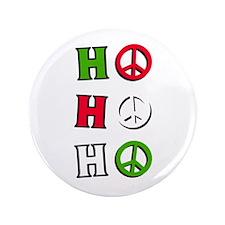 """Christmas Peace """"ho ho ho"""" -3.5"""" Bu"""