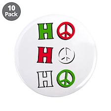 """Christmas Peace """"ho ho ho"""" - 3.5"""" B"""