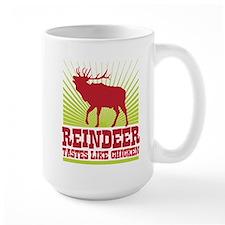 Reindeer Tastes Like Chicken Mug
