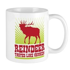 Reindeer Tastes Like Chicken Mug