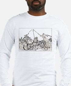 Ancient Chariot Races Long Sleeve T-Shirt