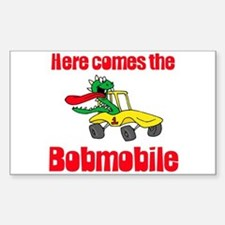 Bobmobile Rectangle Decal