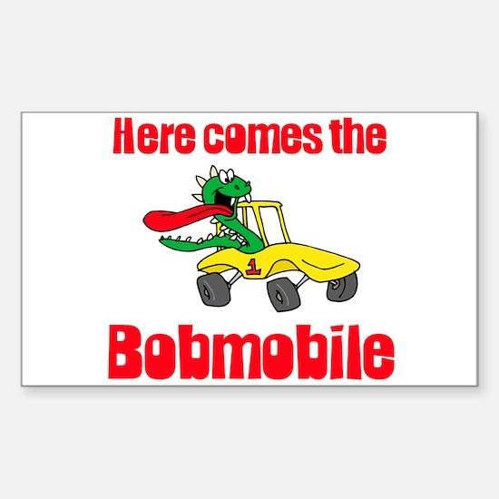Bobmobile Rectangle Decal
