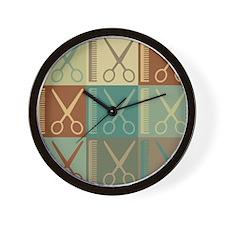 Cosmetology Pop Art Wall Clock