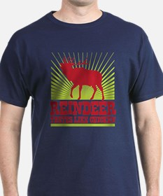 Reindeer Tastes Like Chicken T-Shirt