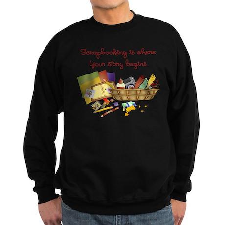 Scrapbooking Sweatshirt (dark)