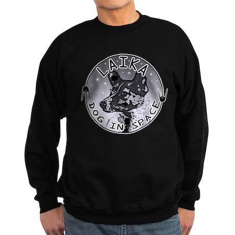 Laika: Dog in Space Sweatshirt (dark)