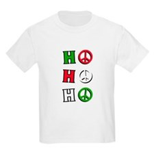 "T-Shirt - Christmas Peace ""ho ho h"