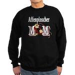 Affenpinscher Mom Sweatshirt (dark)