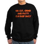 BEEF PATTY Sweatshirt (dark)