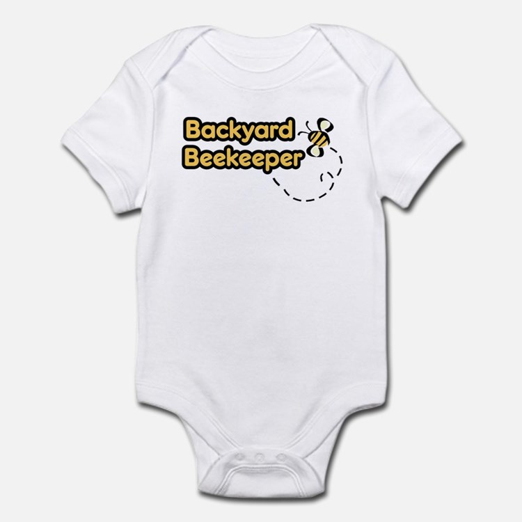 Backyard Beekeeper Infant Bodysuit
