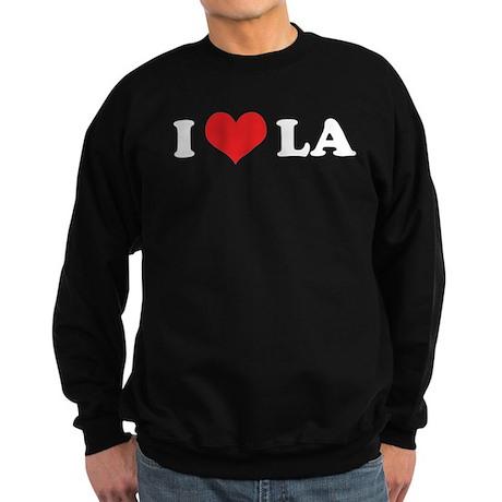 I LOVE LA Sweatshirt (dark)