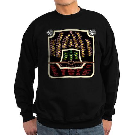 Antique Radio Face Sweatshirt (dark)