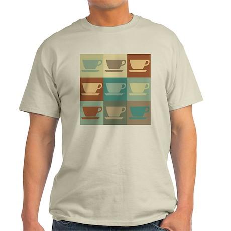 Coffee Pop Art Light T-Shirt