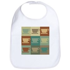 Coffee Pop Art Bib
