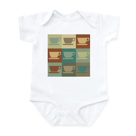 Coffee Pop Art Infant Bodysuit