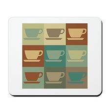 Coffee Pop Art Mousepad