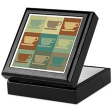 Coffee Pop Art Keepsake Box