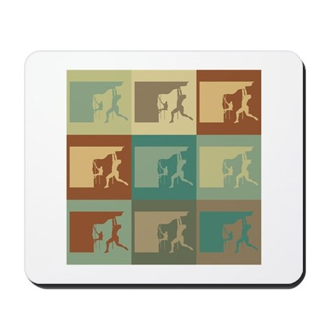 Climbing Pop Art Mousepad