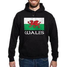 Wales Flag Hoodie
