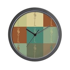 Chiropractic Pop Art Wall Clock