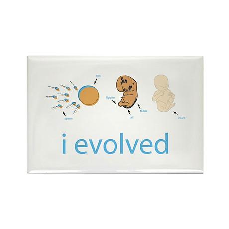 i evolved Rectangle Magnet