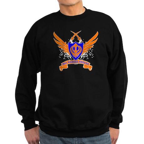 Raj Karega Khalsa. Sweatshirt (dark)