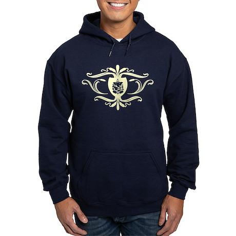 Ganesh Crest. Hoodie (dark)