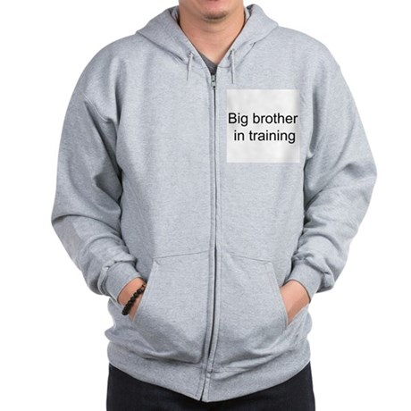 Big brother in training Zip Hoodie