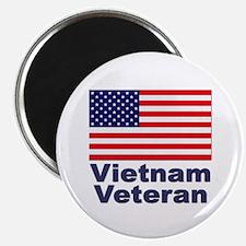 "Vietnam Veteran 2.25"" Magnet (10 pack)"