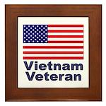 Vietnam Veteran Framed Tile