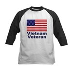 Vietnam Veteran Kids Baseball Jersey