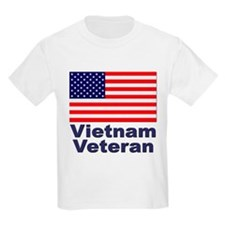 Vietnam Veteran (Front) Kids T-Shirt