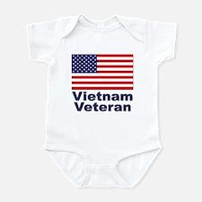 Vietnam Veteran Infant Creeper
