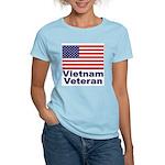 Vietnam Veteran (Front) Women's Pink T-Shirt