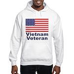 Vietnam Veteran (Front) Hooded Sweatshirt