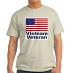 Vietnam Veteran (Front) Ash Grey T-Shirt