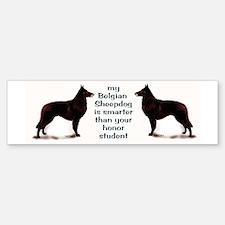 Belgian Sheepdog Bumper Bumper Bumper Sticker
