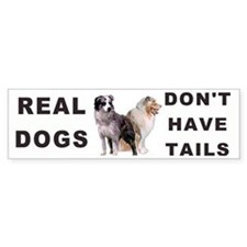 Australian Shepherd Bumper Car Sticker
