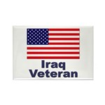 Iraq Veteran Rectangle Magnet (10 pack)