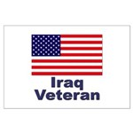 Iraq Veteran Large Poster