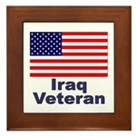 Iraq Veteran Framed Tile