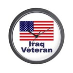 Iraq Veteran Wall Clock
