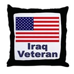 Iraq Veteran Throw Pillow
