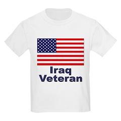 Iraq Veteran Kids T-Shirt