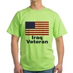 Iraq Veteran Green T-Shirt