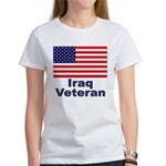 Iraq Veteran (Front) Women's T-Shirt