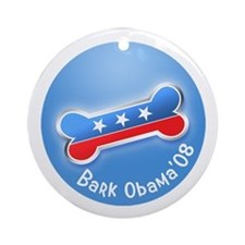 Bark Obama ornament