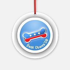 Bark Obama ornament